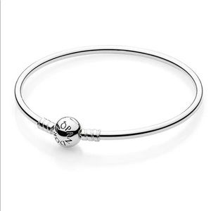 PANDORA Silver Essence Collection Bangle Bracelet